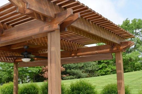 Toldos Antolín Pérgolas de madera pérgola madera