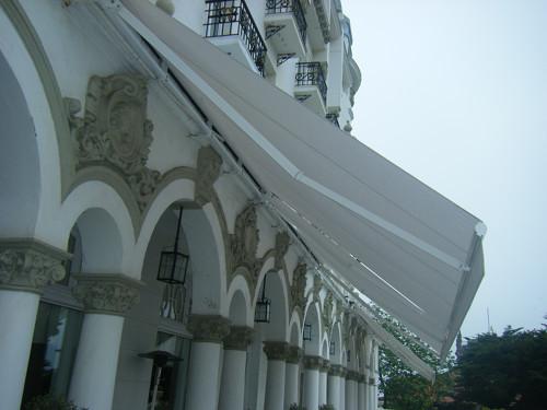 Toldos Antolín Hotel Real trabajos