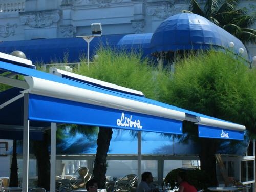 Toldos Antolín Cafetería Lisboa trabajos