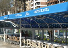 Toldos Antolín Gran Hotel Sardinero trabajos