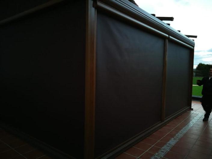 Toldos Antolín Instalación de Pergola en Somo