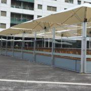 Toldos Antolín Las últimas tendencias son las sombrillas para hostelería en Cantabria