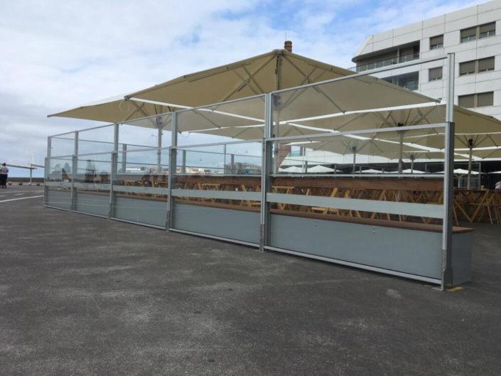 Toldos Antolín Instalación de Sombrillas para Terrazas de bares de Cantabria