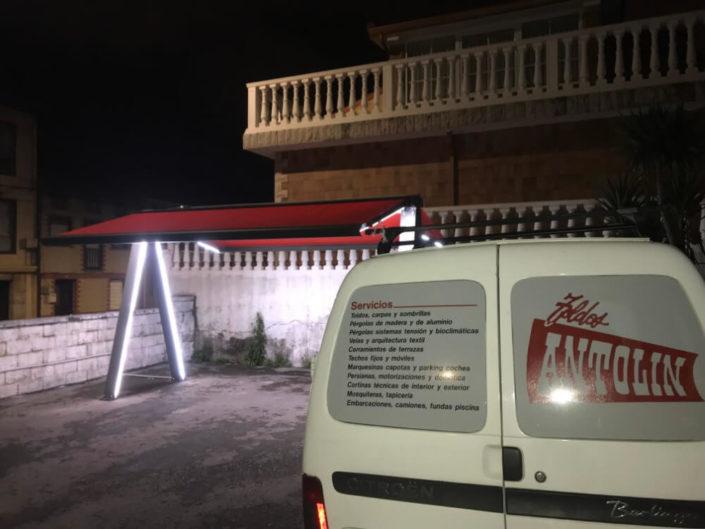Toldos Antolín Instalación de Toldo en Peñacastillo