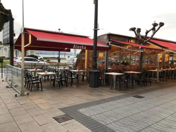 Toldos Antolín Toldo Café Bar Alaska Paseo Pereda